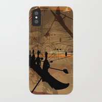 rowing iPhone & iPod Cases featuring Rowing by Tami Cudahy