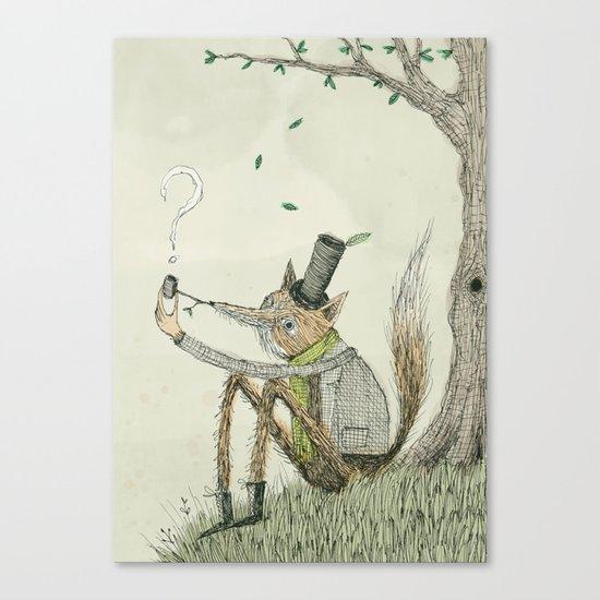 'Theories' Canvas Print