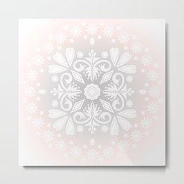 Mandala. Metal Print