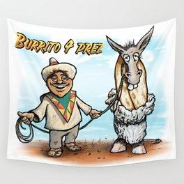 Burrito 4 Prez Wall Tapestry