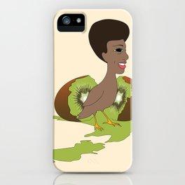 Kiwi chic iPhone Case