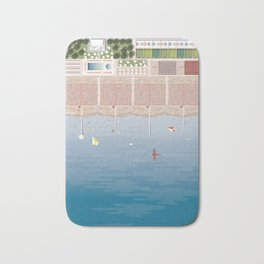 GULLIVER ON THE BEACH Bath Mat
