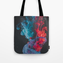 Crystal Ship Explodes Tote Bag