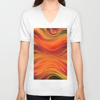 fabric V-neck T-shirts featuring fabric by Cool-Sketch-Len