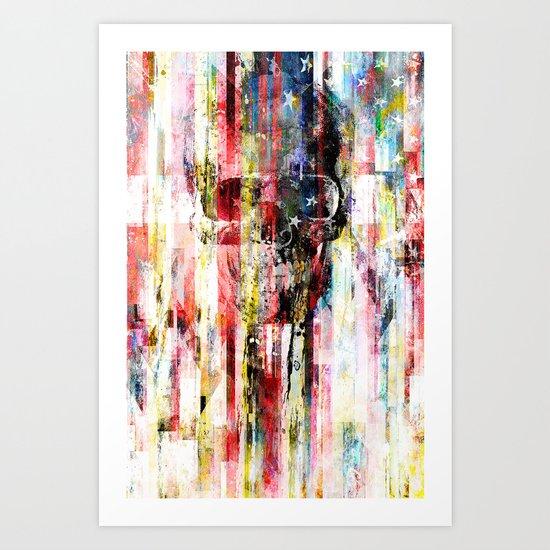 Lenny Hostile Art Print