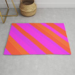 Vibrant pink Rug