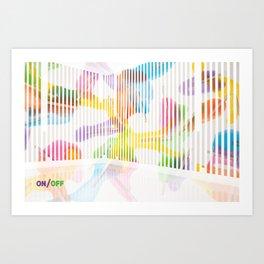 _ON/OFF Art Print