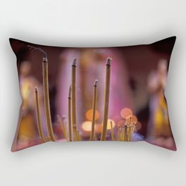 incense sticks Rectangular Pillow
