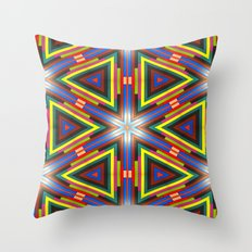 Color My World Byte By Byte Throw Pillow