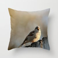 lonely Throw Pillows featuring Independent! by IowaShots
