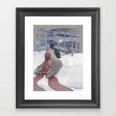 The Crane Wife Framed Art Print