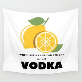 When Life Hands You Lemons Wall Tapestry