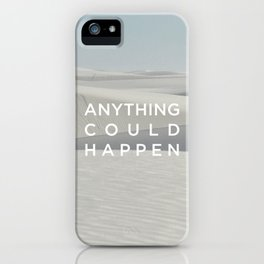 Anything Could Happen / Ellie Goulding iPhone Case