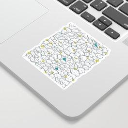 A Cloudy Night Sticker