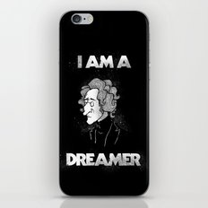 I am a Dreamer - Lennon Illustration iPhone & iPod Skin