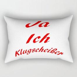 Klugscheißer Rectangular Pillow
