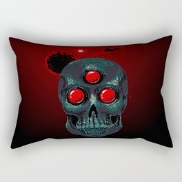 Horror From Beyond Time and Spaaaaaaace! Rectangular Pillow