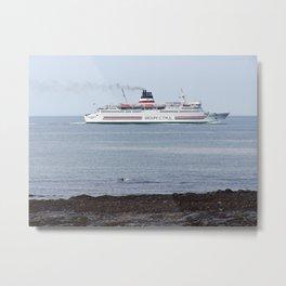 CTMA cruise ship  Metal Print