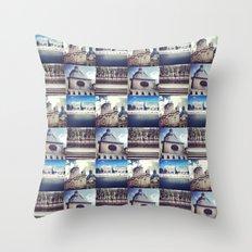 Paris Summer  Throw Pillow