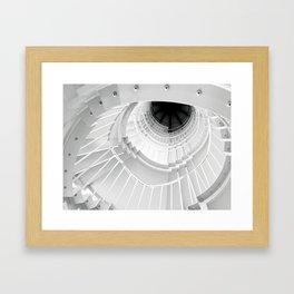 The Winding Staircase Framed Art Print