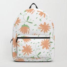 Autumn flora pattern Backpack