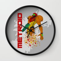 castlevania Wall Clocks featuring Turning to Zero by Greytel