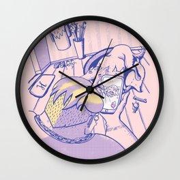 Modern day Hercules Wall Clock