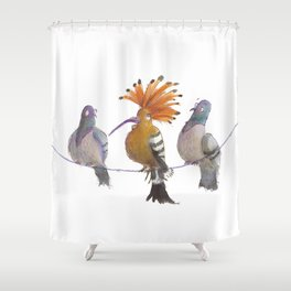 Birds of a Feather...? Shower Curtain