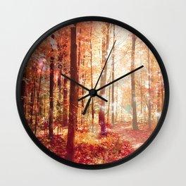 A Soul On Fire Wall Clock