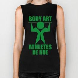body art athlete de rue Biker Tank