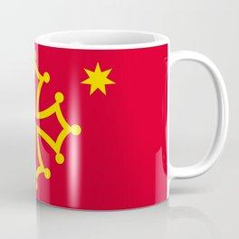 Flag of occitanie Coffee Mug