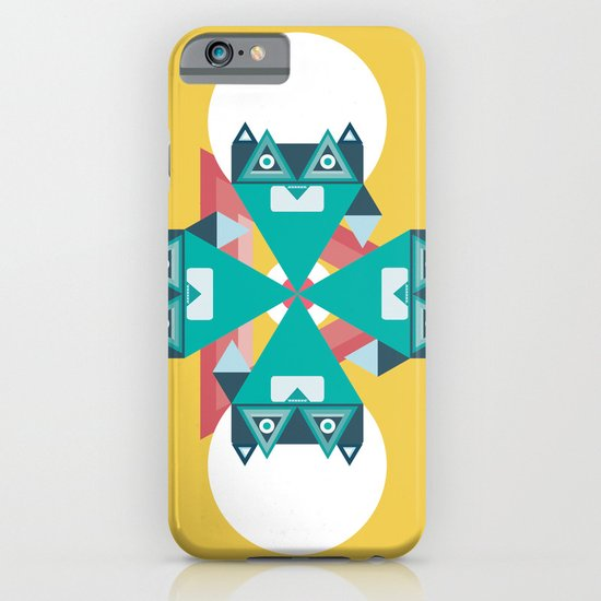 Biconic repetition iPhone & iPod Case