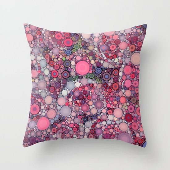 :: Pink Constellation :: Throw Pillow