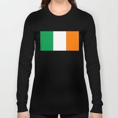 Flag of Ireland, High Quality Image Long Sleeve T-shirt