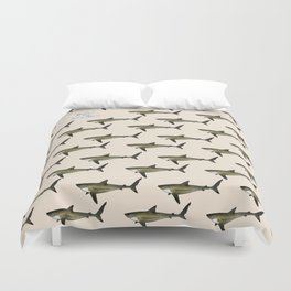 Silky Shark Duvet Cover