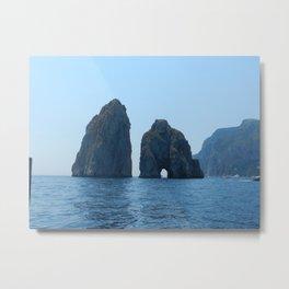 Capri Love Metal Print