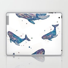 Whale Splash Laptop & iPad Skin