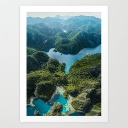 Coron Island, Philippines Art Print