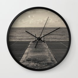 Look to Horizon Wall Clock