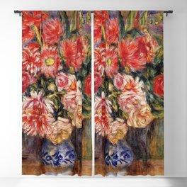 Pierre Renoir Bouquet of Flowers 1913 Blackout Curtain