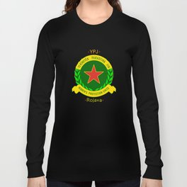 YPJ, Women's Protection Units Long Sleeve T-shirt