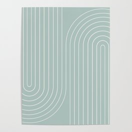 Minimal Line Curvature - Sage Poster