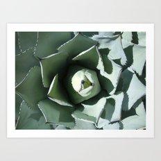 Unfolding Art Print
