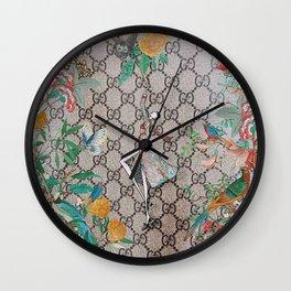 FloralGucci Wall Clock