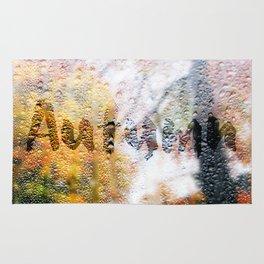 Window in Autumn Rug