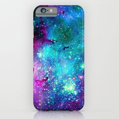 purple pink blue nebula iPhone 6s Slim Case