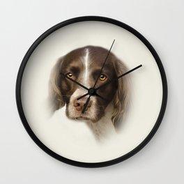English Springer Spaniel Wall Clock