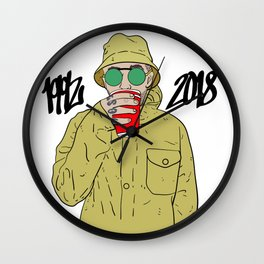 Mac Miller R.I.P 1992 - 2018 Wall Clock
