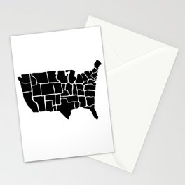 America from Memory Stationery Cards