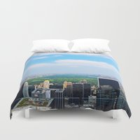 central park Duvet Covers featuring Central Park by NaturallyJess